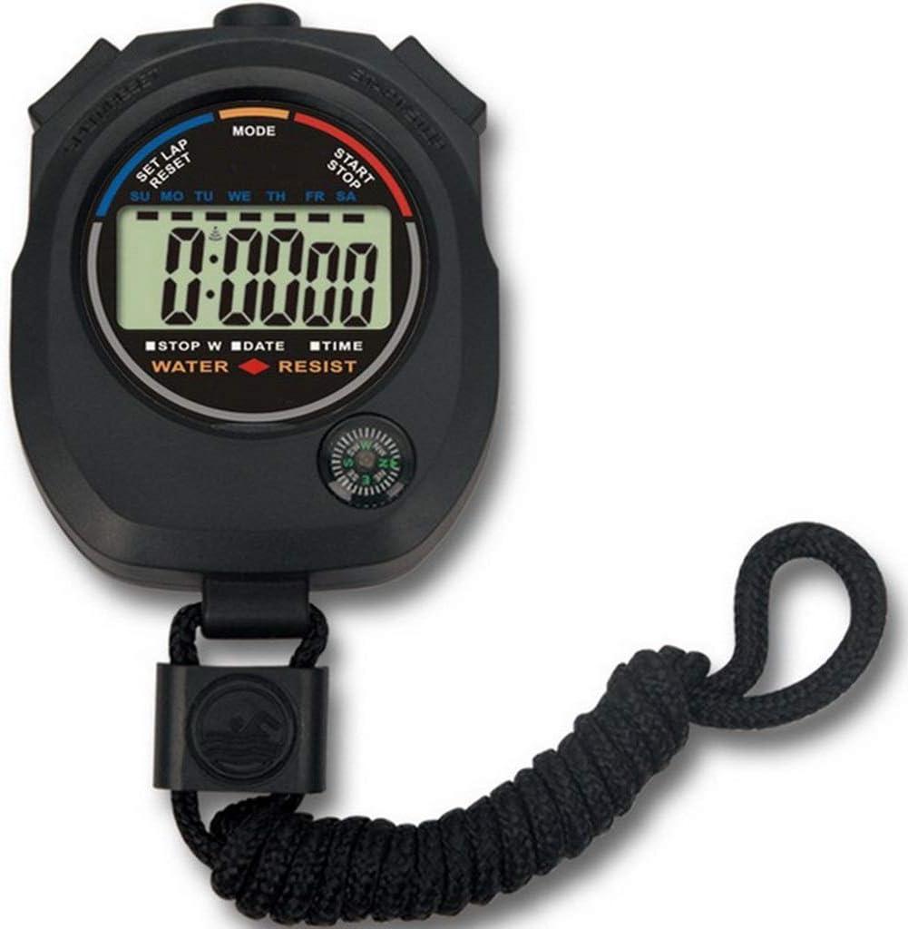 DYHOZZ Temporizador Cronómetro/Multifunción Cronómetro electrónico ...