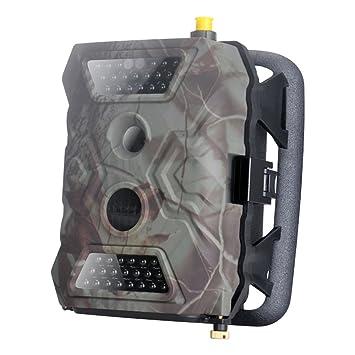 Tactical Digital Cámara de caza gprs mms Detector de movimiento PIR Alarma Sensor de Imagen de