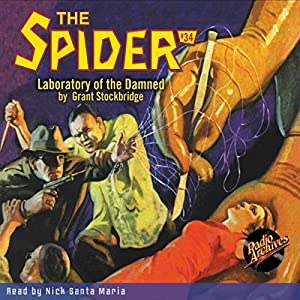 Spider #34, July 1936 Audiobook