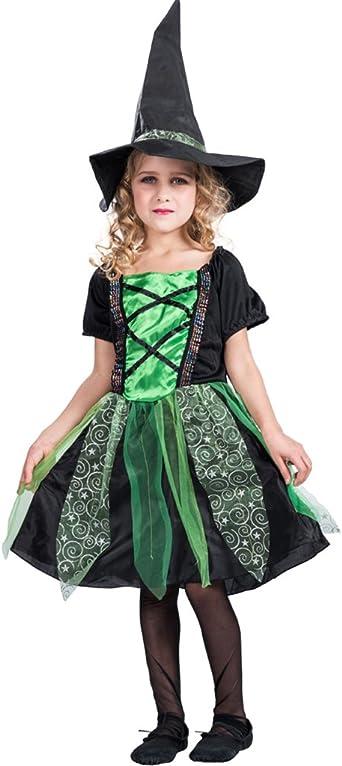 EraSpooky GirlS Fairytale Classic Disfraz de Bruja de Halloween ...