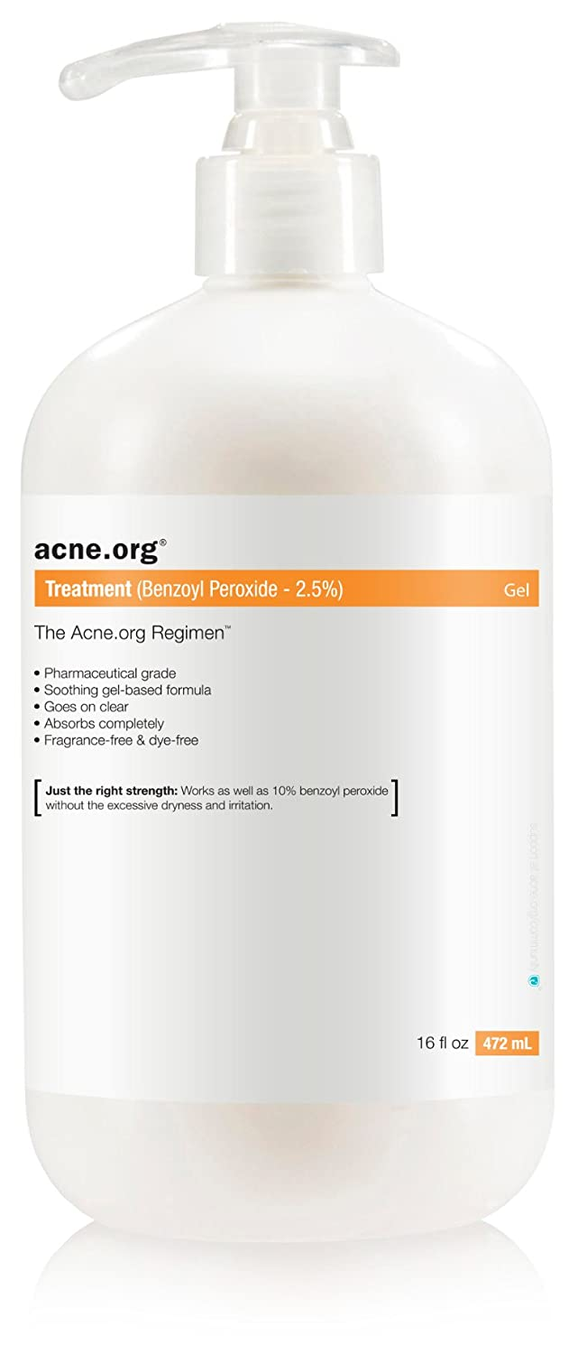 Acne.org 16 oz. Treatment (2.5% Benzoyl Peroxide)