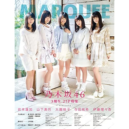 MARQUEE Vol.119 表紙画像