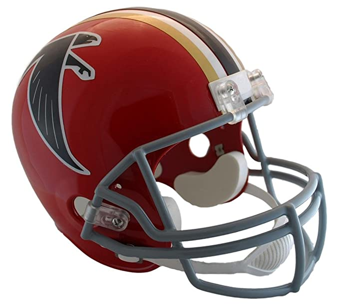Amazon.com: Denver Broncos 1967-96 Throwback Riddell Deluxe Replica Helmet: Sports & Outdoors