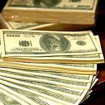 2 Pack $100 Dollar Bill Facial Tissue Napkins Benjamins Gag Gift Fake Money New