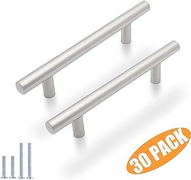Probrico T Bar Cabinet Pulls Stainless Steel Kitchen Handles 6 Inch Length 30 Packs By Probrico Amazon De Baumarkt