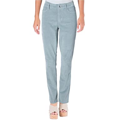 9aef82db Amazon.com: NYDJ Womens Corduroy Slim Corduroy Pants Blue 6: Clothing