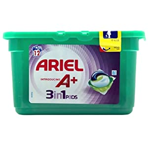 Ariel 3 in 1 Pods Colour with A+ 12 washes