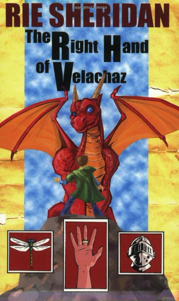 The Right Hand Of Velachaz By Rie Sheridan Rose