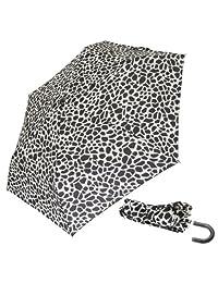 Ladies/Womens Animal Print Small Supermini Umbrella (See Description) (Giraffe Print)