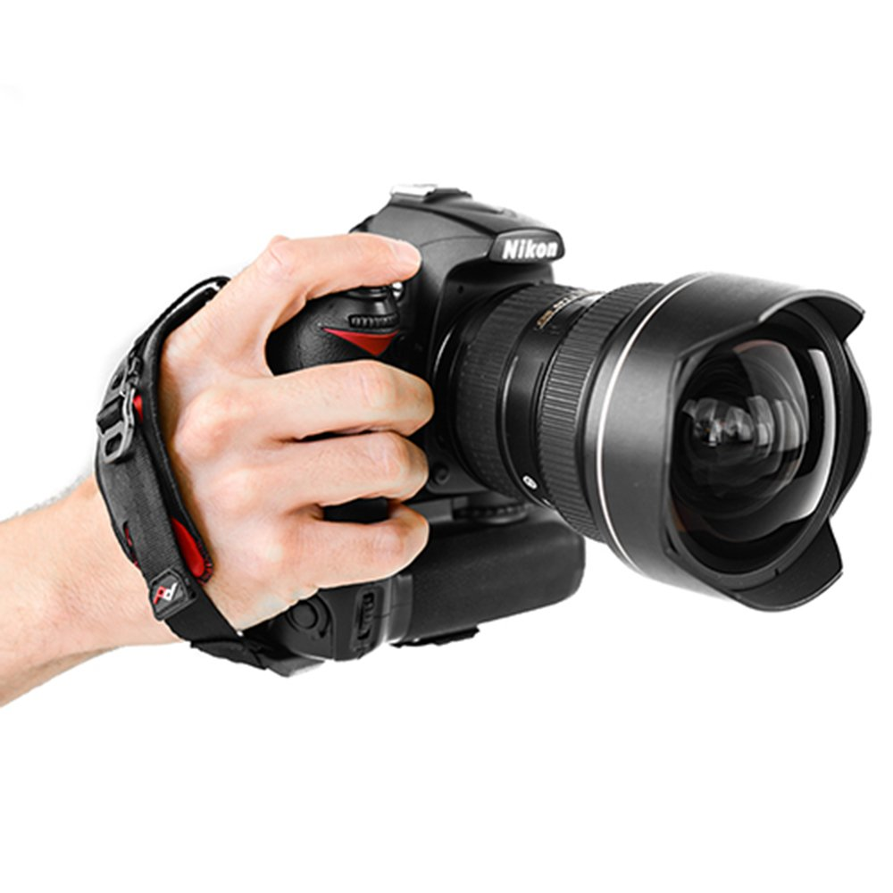 Peak Design Clutch Cl 2 Quick Attaching Shell Large Adjusting Black Hand Strap Camera Photo