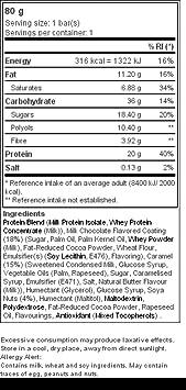 Prozis Protein Gourmet Bar 80G - Fuente De Proteína y Fibra - Sabor A Chocolate Con Leche Con Una Textura Increíble: Amazon.es: Salud y cuidado personal