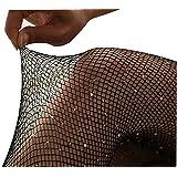 Frauen hohe Taille eng Sparkle Strass Strümpfe Netzstrumpfhose