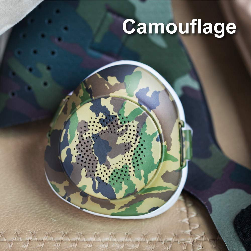 EPActive Fresh Air Purifying Mask N95/N99 Anti-Pollution Respirator with Active Fan for Prevention of PM 2.5, Odor, Dust, Smoke, Pollen, Mold, Allergen, Bacteria (Adult Medium, Camouflage) by CyberTech (Image #2)