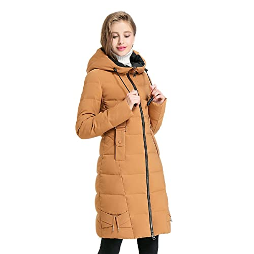 Chaqueta Con Espesado De Mujer Chaqueta Con Capucha De Invierno Estilo Mujer Abrigo Y170007