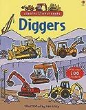 Diggers (Usborne First Sticker Book)