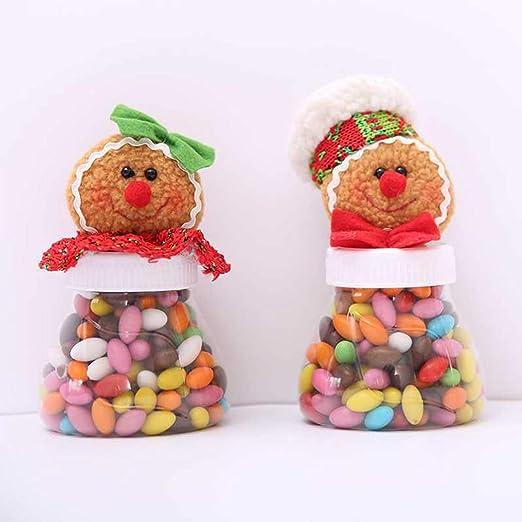 WYING Caja Dulces de Navidad - Forma Muñeco de Nieve Caja de ...