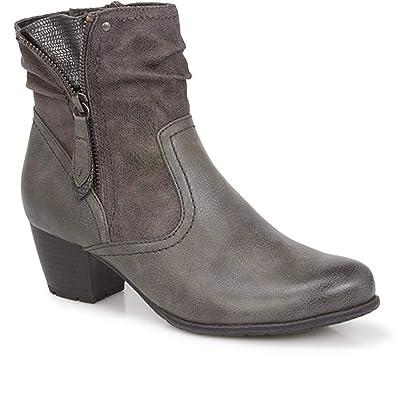 Jana Boots Chaussures Sacs Gris 21 8 Et 25370 wg1q8w7