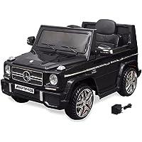 vidaXL Voiture Chevaucher Électrique Mercedes Benz G65 SUV Noir Auto Électro