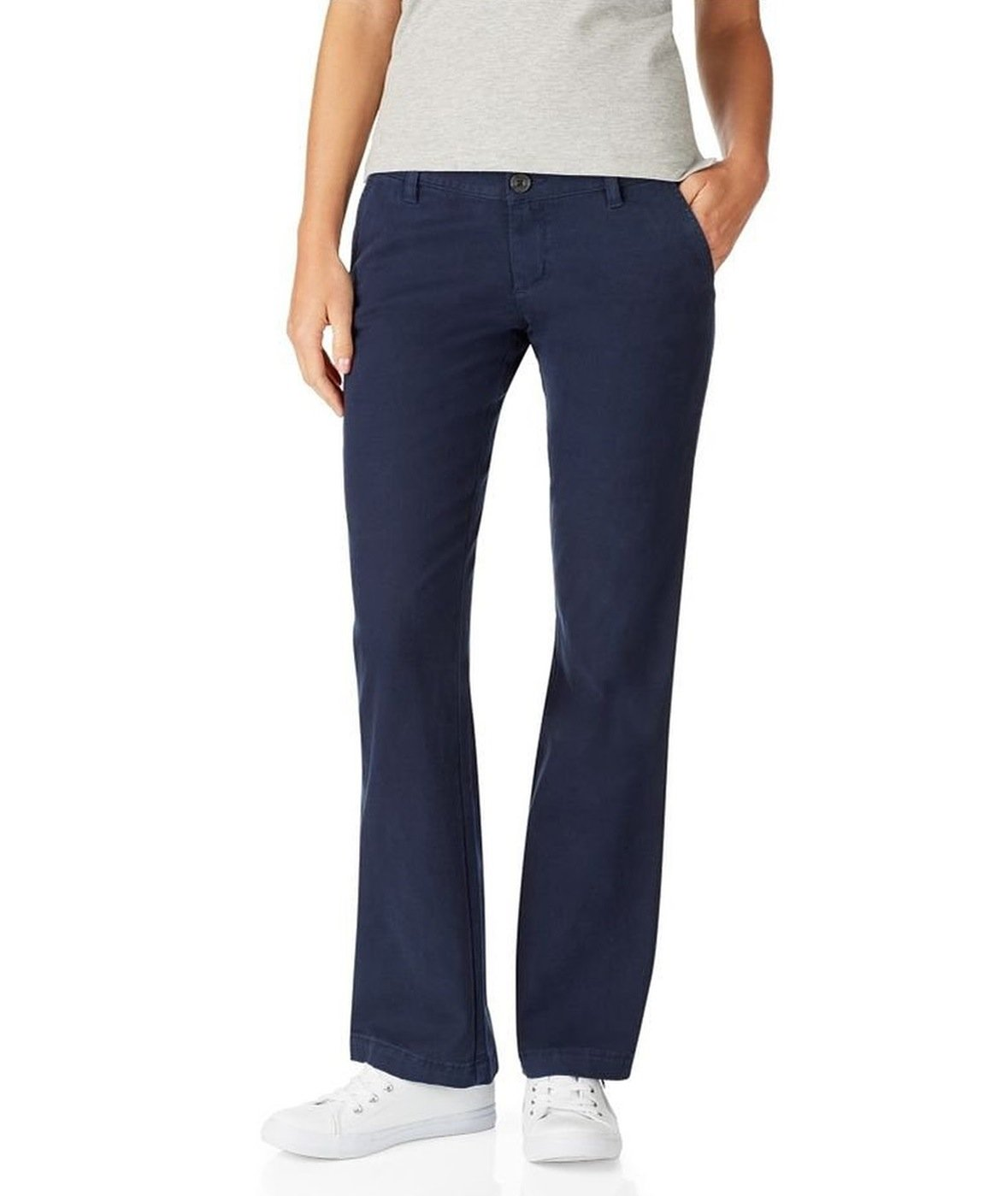 Aeropostale Womens Khaki Chino Pants 404 0S