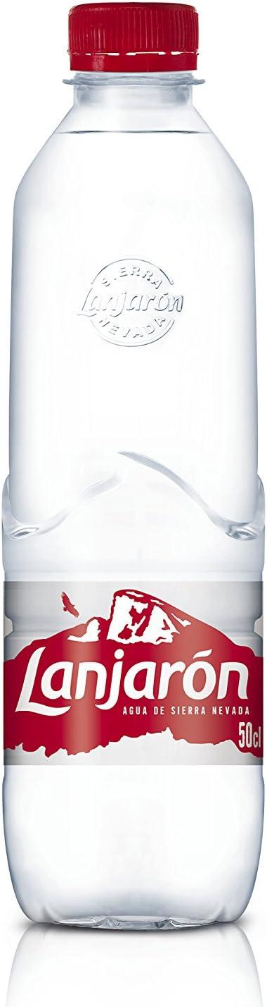 Lanjarón Agua Mineral Natural - Pack de 24 Botellas x 0.5 l ...