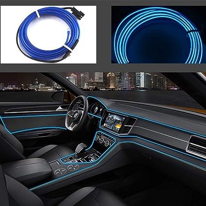 Amazon Com Bys El Wire Diy Lighting Decor Kit Usb Neon Car