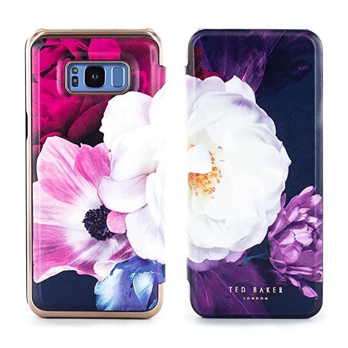 info for e0616 2a5e1 Ted Baker LANDACE Mirror Folio Case for Samsung Galaxy S8+ - Blushing  Bouquet