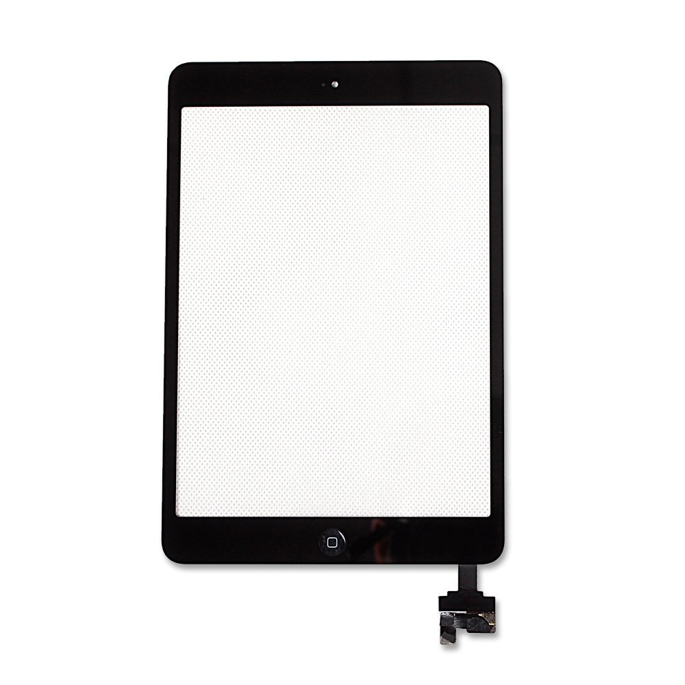 Ayake For iPad Mini/iPad Mini 2 Digitizer Screen Replacement Black 7.9'' Full LCD Display Assembly with IC Chip Flex Cable, Home Button, Camera Bracket Pre Assembled, Adhesive and Repair Tool Kits by Ayake (Image #3)