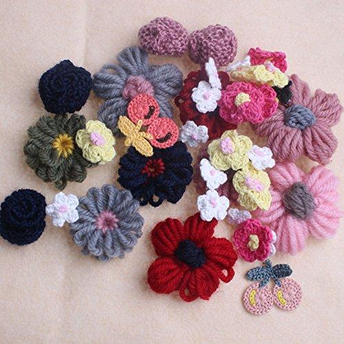Crochet Flower Embellishment - 5
