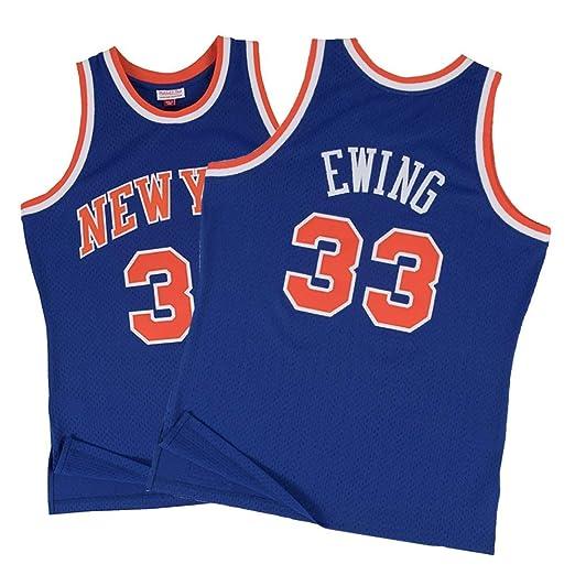 Z-ZFY Camiseta De La NBA para Hombre Y Mujer Patrick Ewing # 33 ...