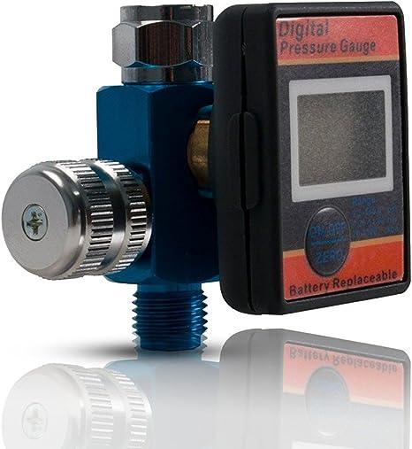 Amazon.com: Regulador de flujo de aire con medidor de ...