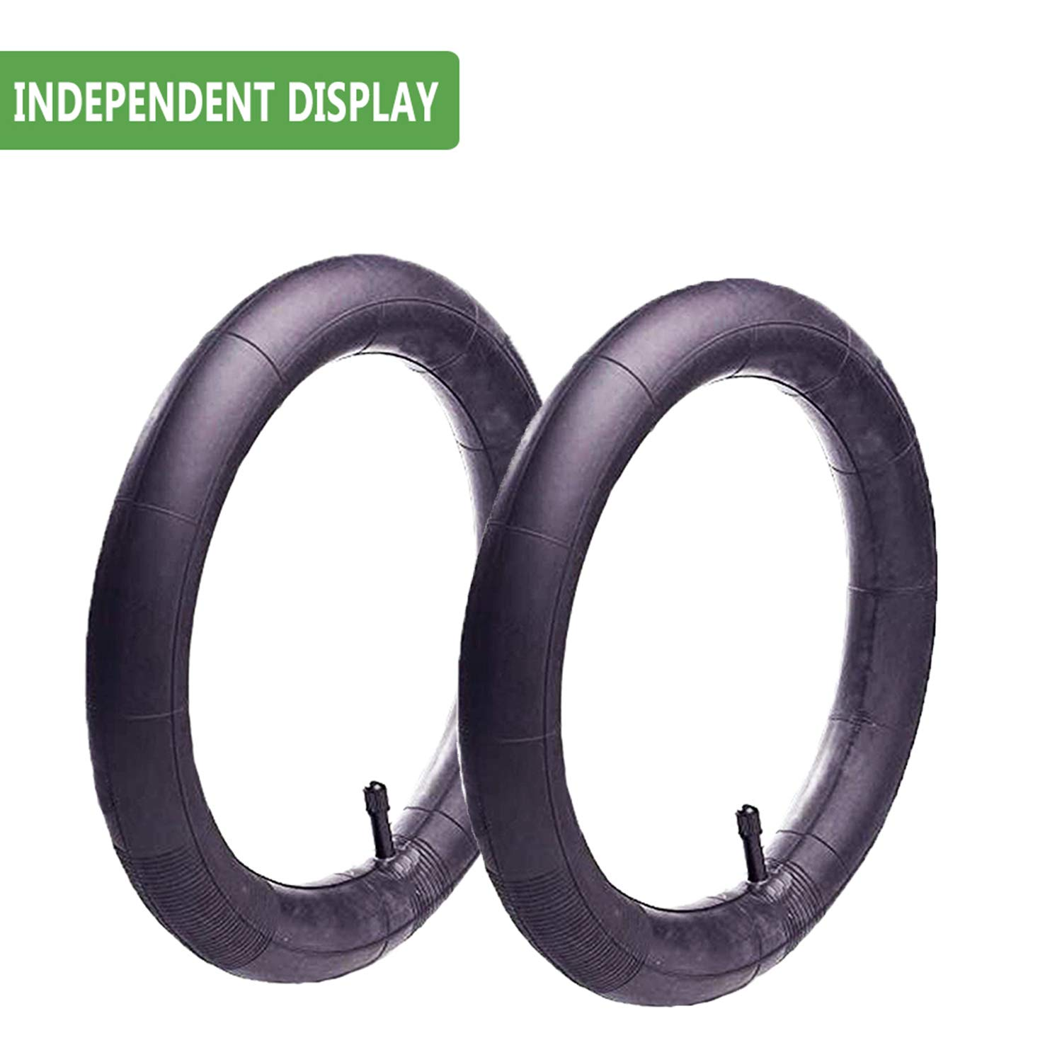 16'' x 1.75/2.15 Back Wheel Replacement Inner Tubes (2-Pack) for BoB Revolution SE/Pro/Flex/SU/Ironman - Made from BPA/Latex Free Premium Quality Butyl Rubber by YIKUSO (Image #4)