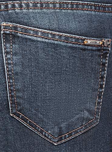 4d720dffd993b Bleu 7900w Basique Slim Femme Ultra Jean Oodji O8XHwx in brow ...