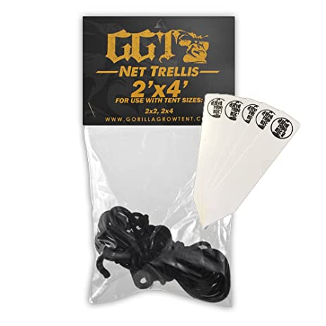 Gorilla Grow Tent Net Trellis 2u0027x4u0027 for use with GGT 2x2 2x4  sc 1 st  Amazon.com & Amazon.com : Gorilla Grow Tent Net Trellis 2u0027x4u0027 for use with GGT ...