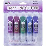 Tulip Dazzling Glitter Jewels Dimensional, Premium Quality, Ideal for Crafts, Parties, School Projects Fabric Paint