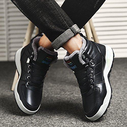 las Tamaño para hombre calientes Negro Winter Color Calzado 3 UK6 colores Martin botas EU39 Mantenga CN39 Leisure Feifei R6wddY