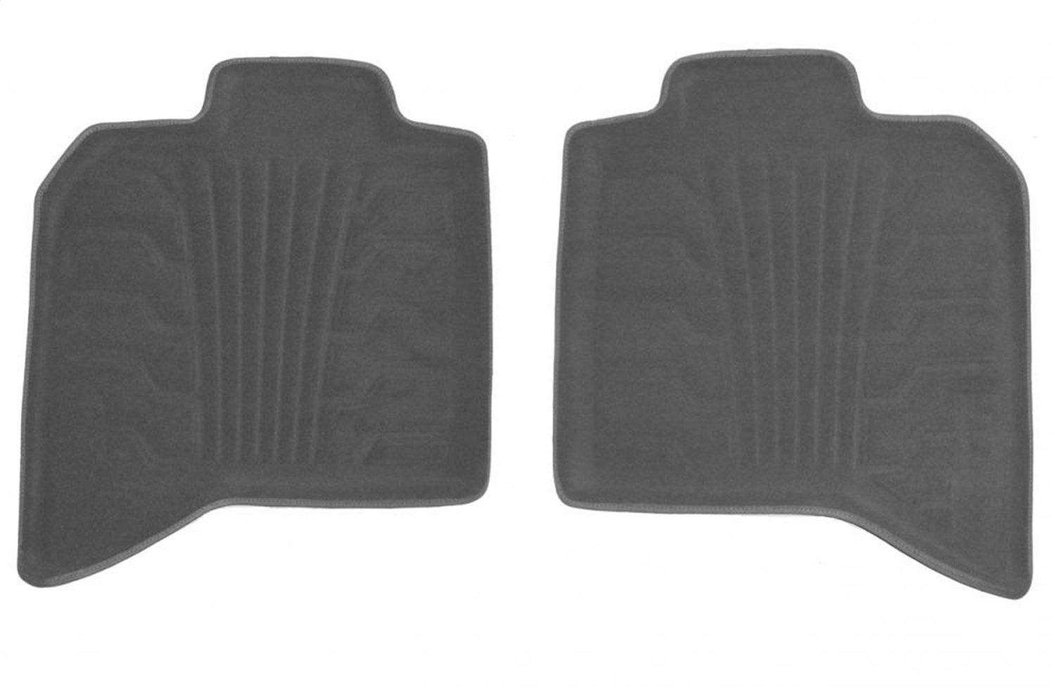 Set of 2 Lund 783098-G Catch-It Carpet Grey Rear Seat Floor Mat