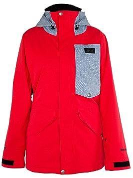 Armada Mujer Snowboard Chaqueta Kana Gore-Tex Insulated Chaqueta, Color Rojo, tamaño Small