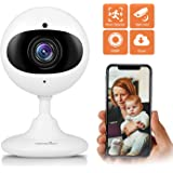 Wansview Wireless Security Camera, 1080P HD WiFi Home Security Indoor IP Camera with Motion Detection, Night Vision and Two-Way Audio for Baby/Elder/Pet/Nanny- Cloud Storage Included-White
