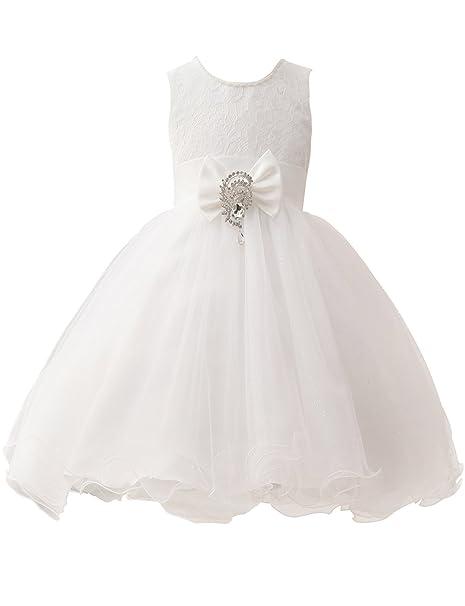 Erosebridal Vestidos De Las Niñas De Primera Comunión Princesa Vestido Vestidos De La Muchacha De La