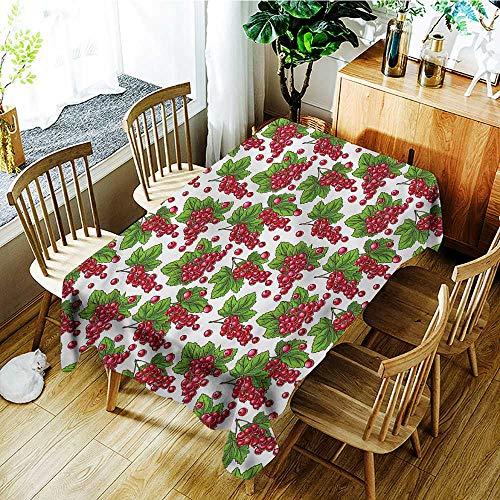 - familytaste Spring,Decor Collection Table Cloths Grape Fruit Harvest 54