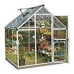 Harmony Aluminium Frame Greenhouse 6x6