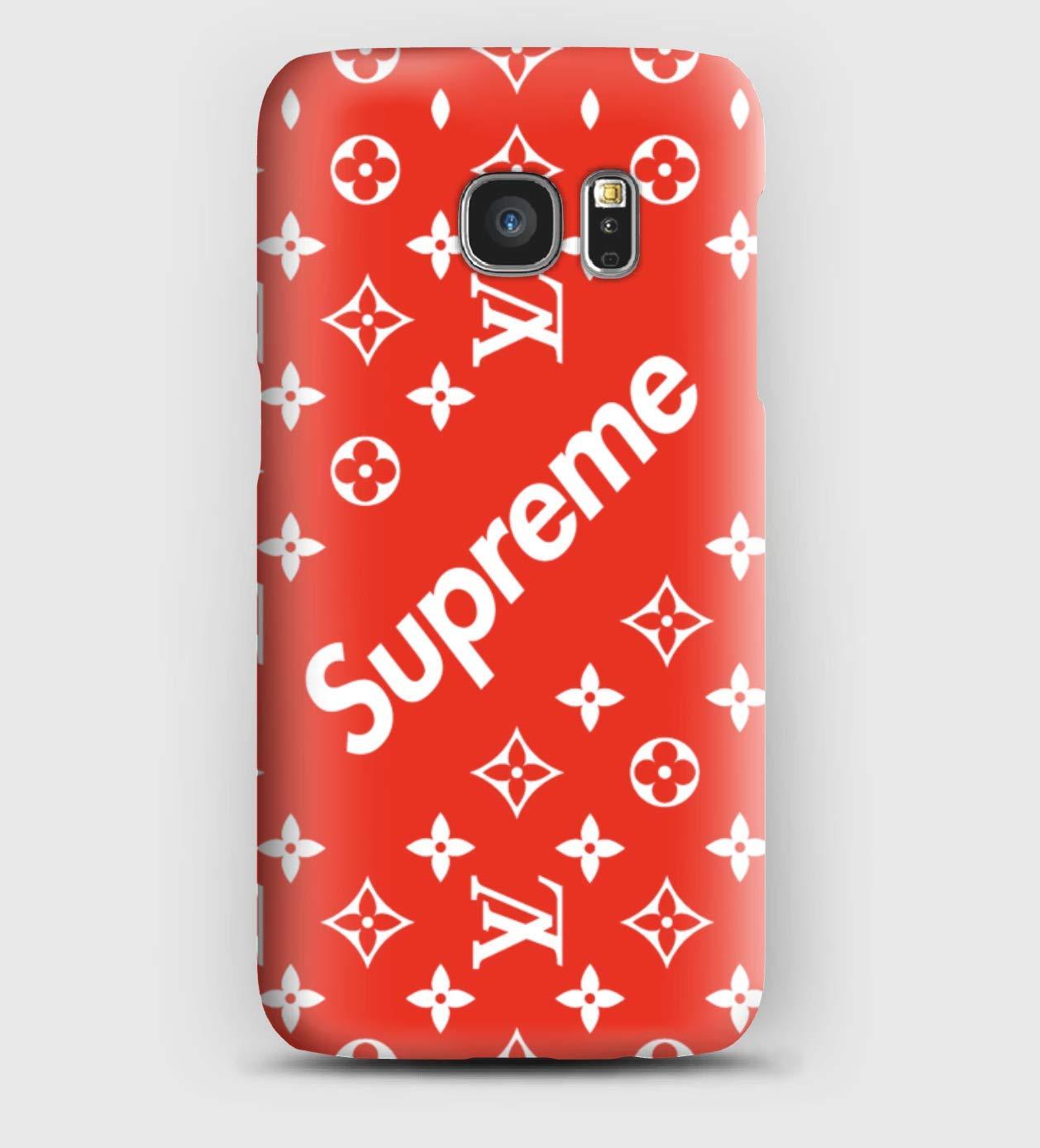 Supreme, coque pour Samsung S5, S6, S7, S8, S9, A3, A5, A7,A8, J3, J5, Note 4, 5, 8,9,Grand prime,