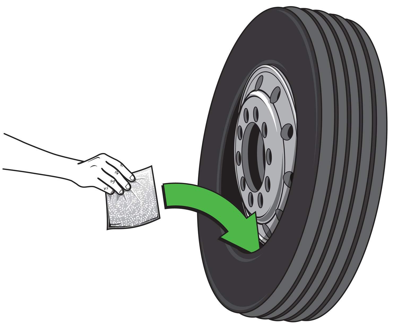 Counteract DIYK-16 Tire Balancing Beads - Truck Super Single, Bus, Off-Road - 16oz DIY Kit (64oz) by Counteract
