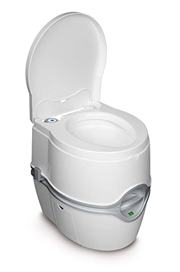 Amazon.com: Porta Potti Curve Portable Toilet For RV | Camping | Vans |  Trucks | Healthcare | Boats   Model 550E, By Thetford   92360: Automotive