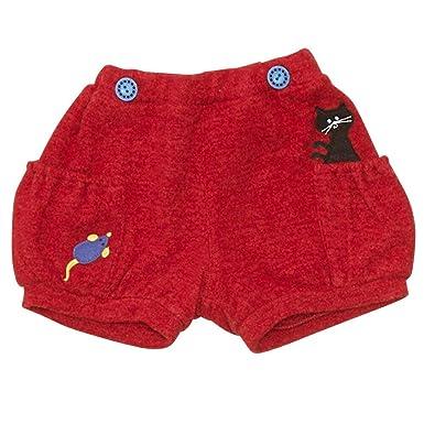 e198b61b999c1 Amazon.co.jp: (プチジャム)Petit jam かぼちゃパンツ 130 レッド  服 ...