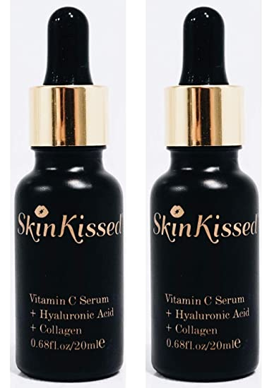 Amazon com: SkinKissed Vitamin C Flawless Facial Serum with