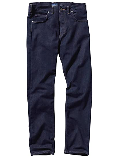 save off ab802 31548 Jeans Men Patagonia Performance Straight Fit Jeans: Amazon ...