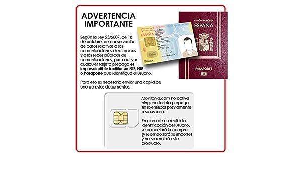 Tarjeta SIM prepago Orange Mundo 4G con 5€ + 5€ de saldo (10 ...