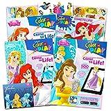 Disney Princess Coloring Book Super Set -- 3 Disney Princess Books Filled