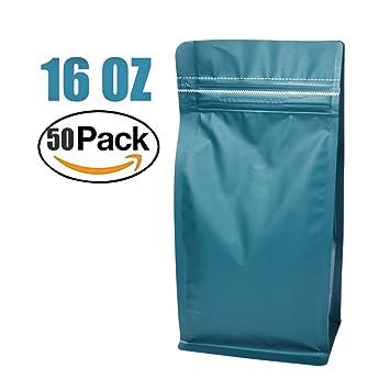 Amazon.com: Stand-Up Almacenamiento Bolsas Bolsas grano de ...